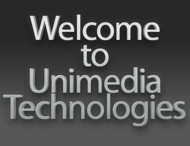 Welcome To Unimedia Technologies : The Maker of Uniplay & Uniplay-CG Range of Software