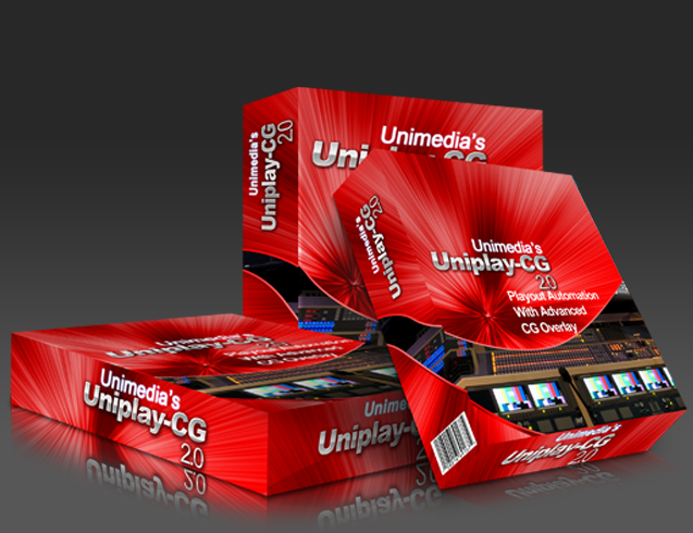 Software Boxes of Uniplay & Uniplay-CG 2.0
