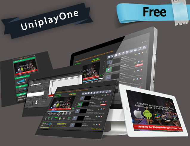 UniplayOne Free TV Playout Automation Software
